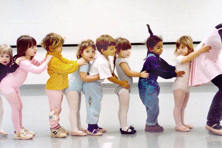 θα σε χορέψω σαν παιδί! - ένα εργαστήρι κίνησης