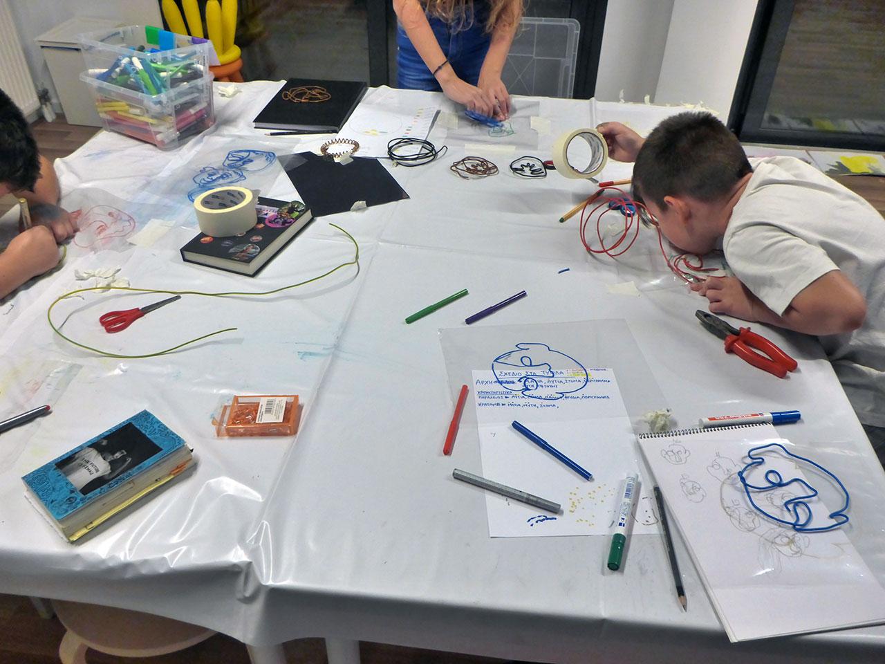 καλιγκούρου - εργαστήρι εικαστικών για παιδιά δημοτικού